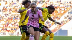Reggae Girlz go down to Scotland in final warm up before World Cup