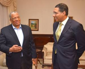 PM and Opposition Leader pay tribute to Edward Seaga