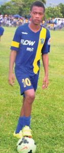 Deshane Beckford on loan with USL championship team Rio Grande Valley