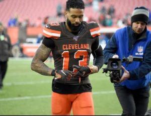 Warrant obtained for the arrest of Cleveland Browns receiver Odell Beckham Jr.