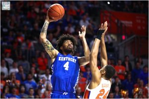 Nick Richards' Kentucky ranked 8th on AP Men's Basketball Top 25 Poll