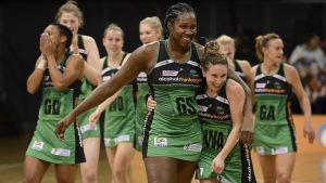 Jhaniele Fowler wins second consecutive Player of the Year Award