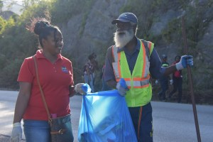 NCU joins clean up effort in Manchester