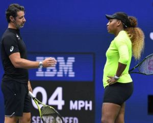 Serena Williams must rethink her approach to grand slams- Coach Patrick Moratoglou