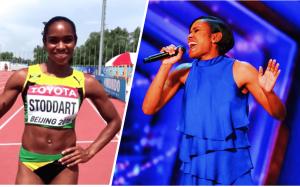 Jamaican-born retired Olympian wins judges hearts on America's Got Talent