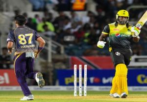 Ja­maica Tallawahs skip­per Chris Gayle fined by CPL for his side's slow over rate