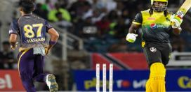 Jamaica Tallawahs skipper Chris Gayle fined by CPL for his side's slow over rate