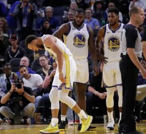 More problems for the Golden State Warriors after Steph Currie breaks hand