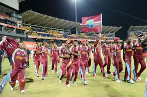 West Indies Cricket team climbs to seventh place in ODI standings