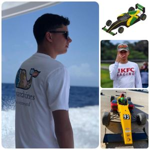 Jamaican William Myers to race in Formula IV championship