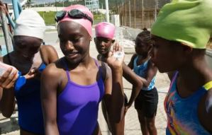 Top Swimmers participate in the latest staging of the Carifta virtual workout session