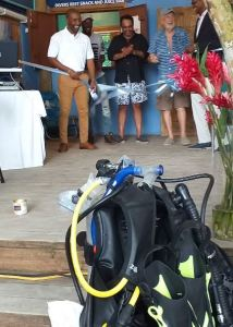 Oracabessa Foundation and Oracabessa Fishers Association officially opens Dive Shop