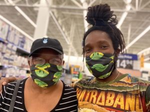 Kabaka's mom to donate part proceeds from face masks to Africa