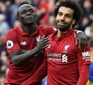 Liverpool's forwards Sadio Mane and Mohamed Salah shortlisted for the CAF African player of the year