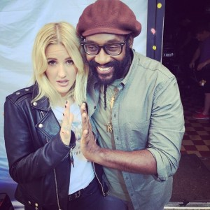 Tarrus Riley and Ellie Goulding's Powerful in another Emporio Armani perfume ad