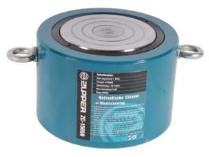 Ingeschoven cilinder 150 Ton slag 50 mm