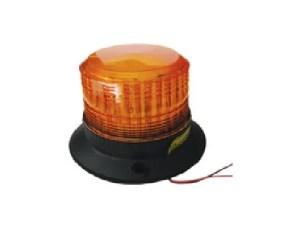 Oranje zwaailicht 12 volt vaste voet