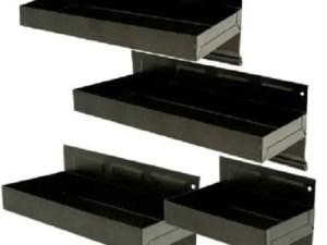 Magnetische opberg bakjes set 4 delig