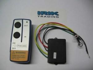 Radiografische afstandbediening 12 volt - lier