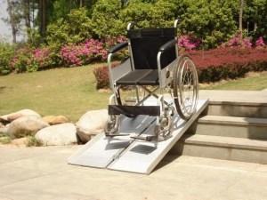 Oprijplaat voor rolstoel 1.2 meter