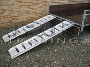 Aluminium oprijplaat model B