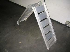 Aluminium oprijplaat (opvouwbaar)