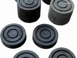 Rubbers voor poetsbrug 4 x 30mm & 4 x 90mm
