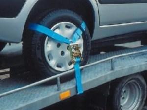 Spanband voor auto ambulances