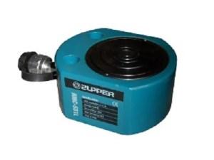 Platte cilinder dubbel 50 Ton slag 64 mm