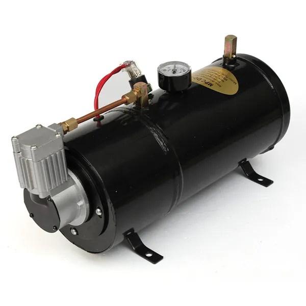 Luchthoorn Compressor 12 volt 3 liter tank