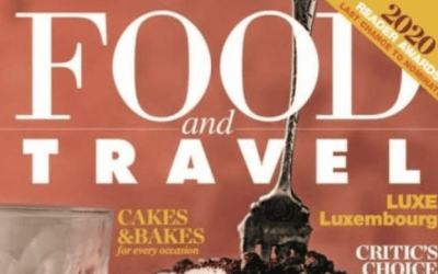 In Food and Travel Magazine May 2020