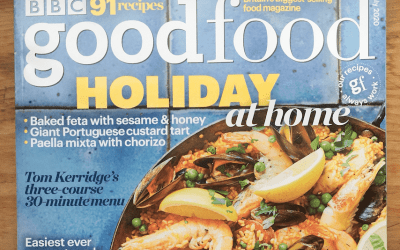 BBC Good Food Magazine features Romanian 'plăcintă'