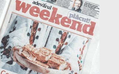 In the prestigious Romanian newspaper 'Adevarul'