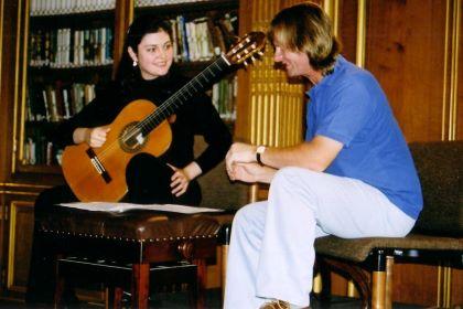 Irina Kulikova with David Russell