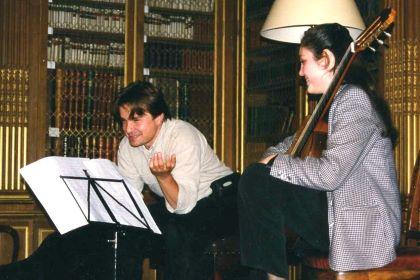 Irina Kulikova with Krzysztof Pelech