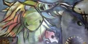 Katzenhai mit Brotzaehnen