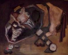 Begegnung, Öl, 80 x 100, 2010