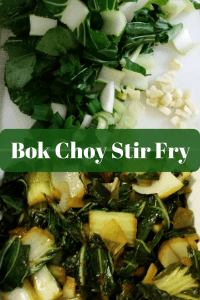 CSA Week #2 and Bok Choy Stir Fry
