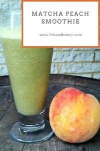CSA Week 11 and Matcha Peach Smoothie