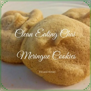 Clean Eating Chai Meringue Cookies