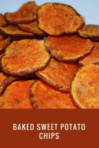 Paleo Baked Sweet Potato Chips with Maple Sugar