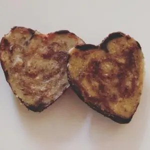 Chocolate nut butter hearts
