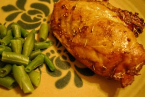 Balsamic Vinaigrette Marinaded Chicken