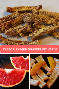 Paleo Candied Grapefruit Peels