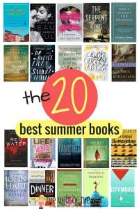 20 Best Summer Books List + Giveaway