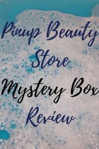 Pinup Beauty Store Mystery Box Review