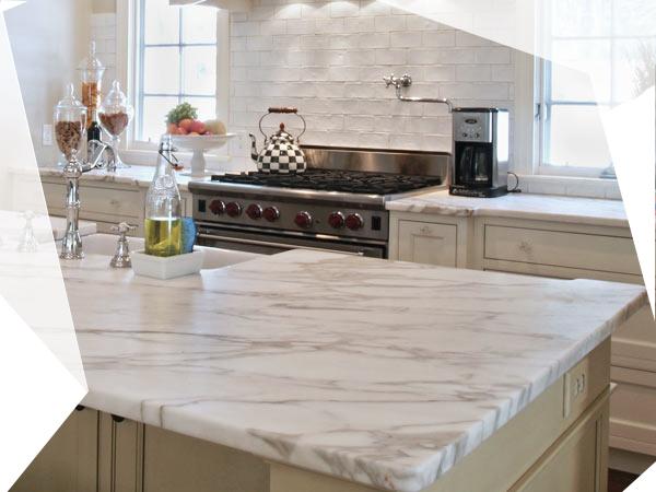 Come pulire i ripiani in marmo