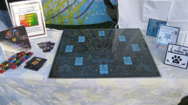 Personal Appearances : Iris Colored Dreams table offerings
