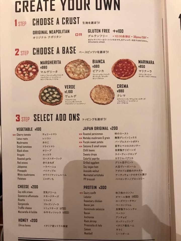 menù senza glutine