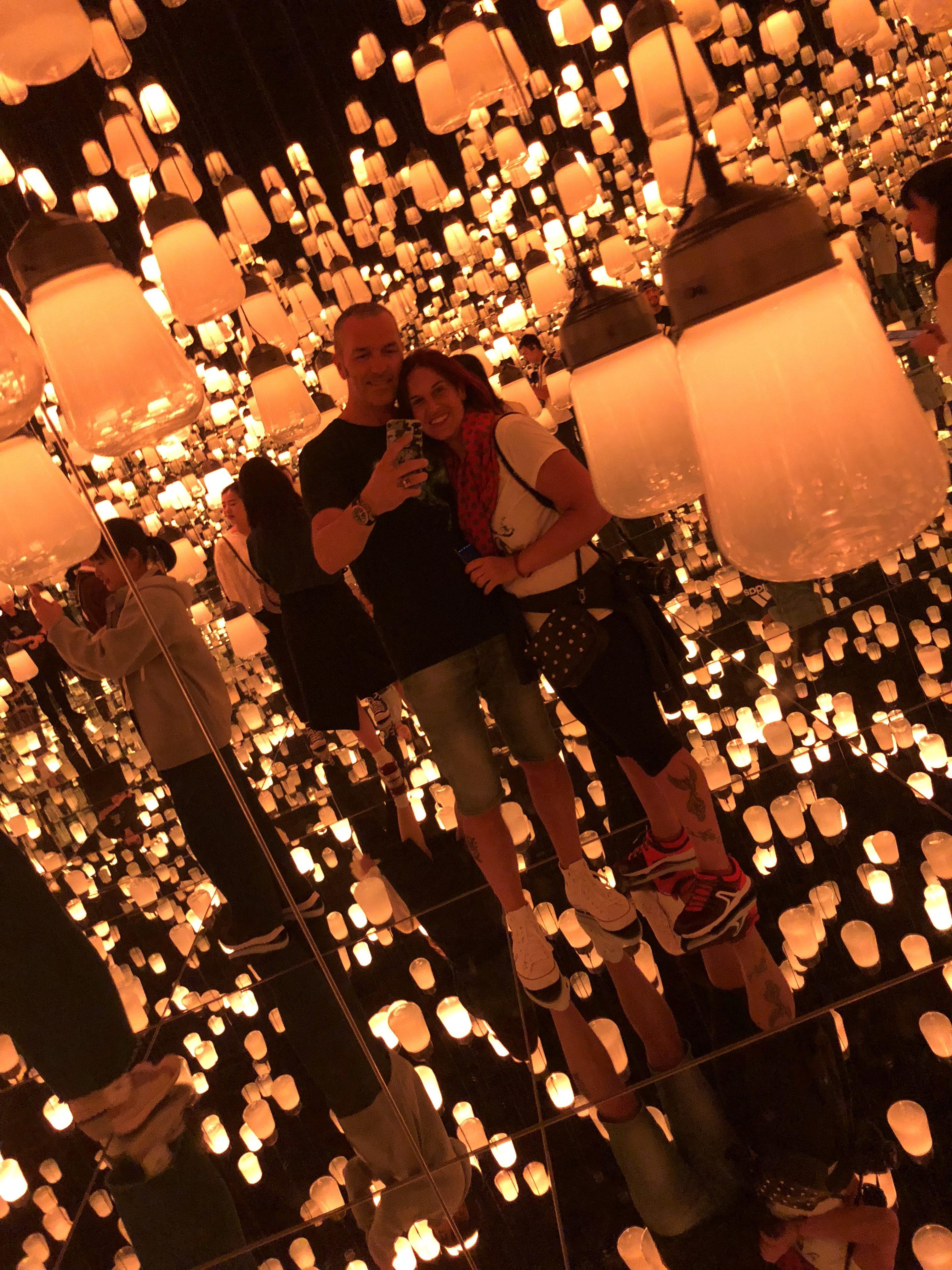 Selfie con lanterne
